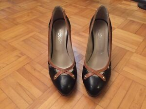 Genuine leather pumps - MADE IN ITALY - size 6 *worn once