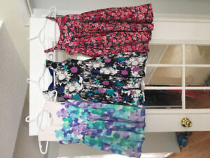 Girls summer clothes size 7 / 8