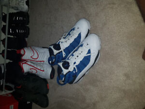 10dc265913d7 blue and white Jordan s great condition going for cheap!