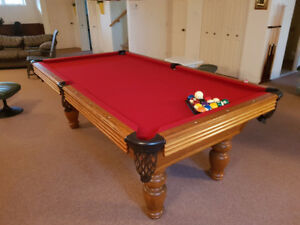 Table De Pool Brunswick 4'.5''X 9'