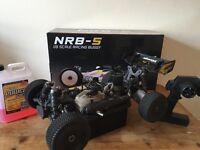 1/8 nitro buggy nanda nrb5