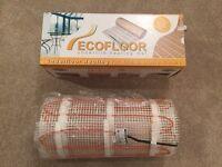 Ecofloor underfloor heating 3m squared