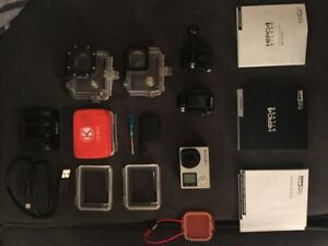 GoPro Hero 4 with accesories