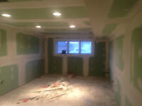 drywall mud and tapper