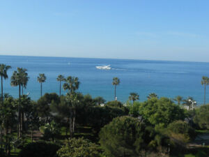 Location appartement Cannes (French Riviera), splendide vue mer
