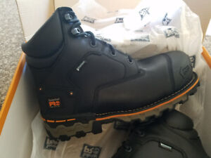 Timberland PRO Mens Boondock Construction Boots Size 11