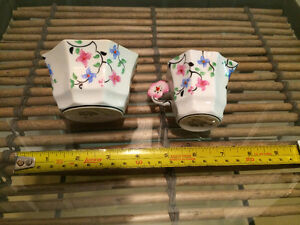 Elegant bone china tea cup and matching sugar bowl