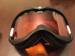 Zeal ski goggles, large adult size