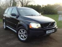 Volvo XC90 2.4 geartronic 2004MY D5 SE, 113K. F.S.H, 7 SEATER. HEATED LEATHER