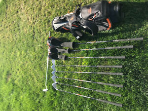 Jr King Cobra clubs w/bag