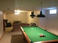 Pool Table  4 x 8 SLATE, MINT CONDITION