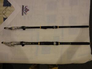 2 BRAND NEW FISHING RODS