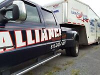 Movers ......   ALLIANCE MOVING SERVICES .
