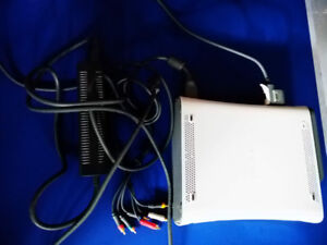 xbox 360 with cables