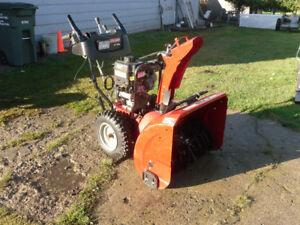 Craftman Snowblower 27inches 250cc For Sale
