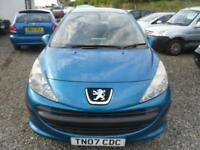 2007 PEUGEOT 207 1.4 S 5dr low tax and insurance. Ideal starter vehicle