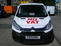2013 CITROEN DISPATCH VAN SWB HDi L1 H1 Enterprise A C Diesel