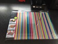 Joseph Joseph colourful stripes worktop save
