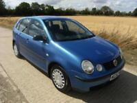 NOW SOLD Volkswagen Polo 1.2 ( 55bhp ) ( a/c ) 2002 S With 121k Miles