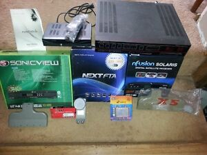 MUST SELL!! Satelite Receivers and Accessories