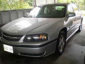 2000 Chevrolet Impala Model S Sedan Kitchener / Waterloo Kitchener Area image 1
