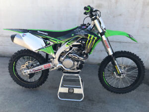 2018 KAWASAKI KX450F ($8300 FIRM- ONLY 10-15 hours)