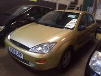 2001 Ford Focus 1.6 Zetec 5dr 5 door Hatchback