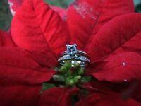 Engagement Ring & Wedding Band