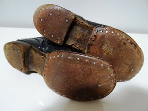 VICTORIAN child's lace-up shoes boots STEAMPUNK KIDS! Tiny Tim Cambridge Kitchener Area image 7