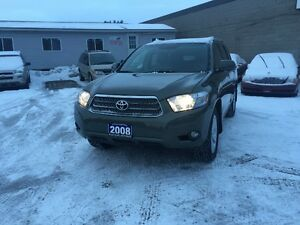2008 TOYOT HIGHLANDER AWD NAVIG LEATHER AUTO CERTIFIED & E-TEST