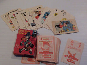 GRAND GALOP (QUICK-DRAW McGRAW) JEU DE CARTE 1961 HANNA BARBERA Québec City Québec image 2