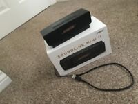BOSE soundlink mini 2 limited edition black and gold
