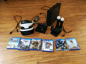 Ps4+ psvr and games