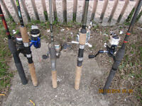 Your Choice of Named FISHING RODS AND REELS