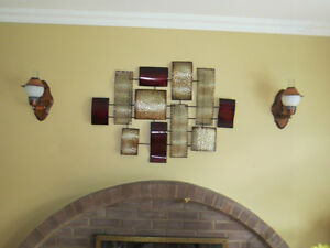 2 Colonial electrical light sconces
