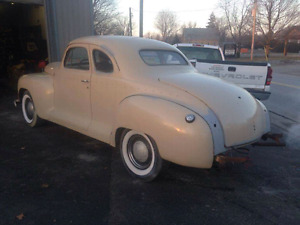 1947 PLYMOUTH BUSINESS MAN COUPE 8500.00 OBO