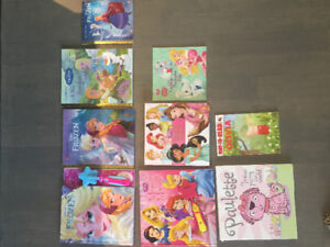 Toddler girl books !! 2 books have interactive wands!