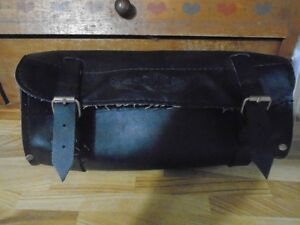 Harley Davidson Handle bar leather pouch