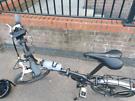 Carerra intercity folding bike