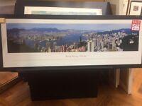 New!! Hong Kong landscape framed print