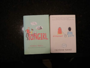 "Used Rainbow Rowell's: ""Fangirl"" and ""Eleanor & Park"""