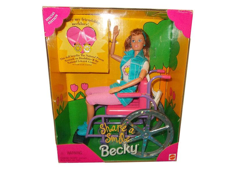 Wheelchair Barbie