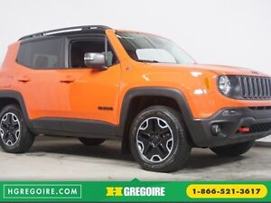 2015 Jeep Renegade Trailhawk 4x4, nav, auto