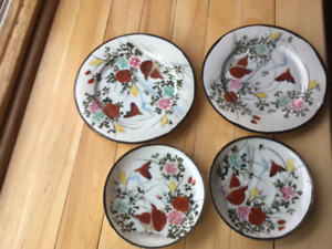 Set of Nipponese China 1890  ,4 plates,7 saucers. Asking 25.00 .