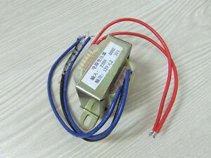 220V 50Hz Input 3VA AC Double 12V Output Electric Part Power Transformer S413