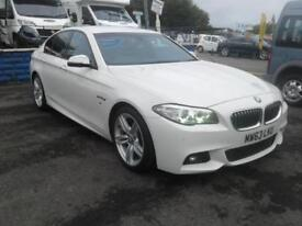 2013/63 BMW 520 2.0TD d M SPORT MET WHITE IMMACULATE CONDITION