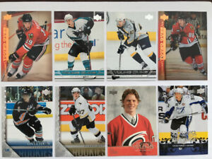 Sidney Crosby & Alex Ovechkin  Upper Deck Young Gun rookie cards