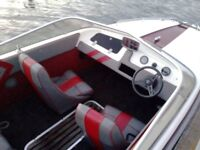Picton Royal speed boat 70hp Mercury outboard