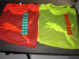 "Puma Men's Short Sleeve ""Dry-Cell"" Tops, Brand new, XL & XXL"