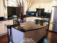 Kitchens Financing 0%: Wood Cabinets GraniteTop, Sinks & Faucets